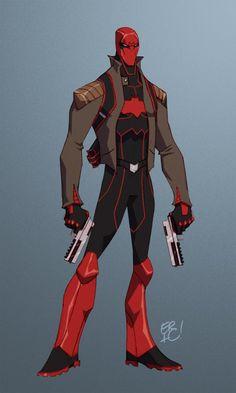 Red Hood by *EricGuzman on deviantART