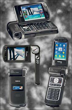 Mòbil Nokia-enregistrador de vídeo.