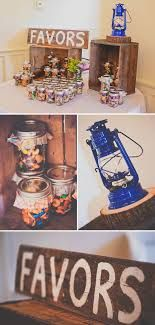 Home made trail mix favors