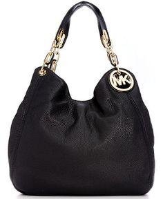 MICHAEL Michael Kors Handbag, Fulton Large Shoulder Tote - Michael Kors Handbags - Handbags & Accessories - Macy's