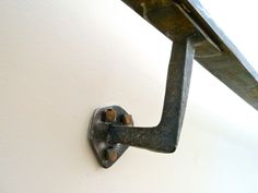 hand forged brackets designed a hand forged bracket for connecting the handrail to the