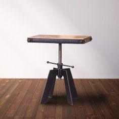 vintage industrial furniture tables design. Simple Metal Table | Office At Blue Window Pinterest Metals, Vintage  Industrial Furniture And Vintage Tables Design D