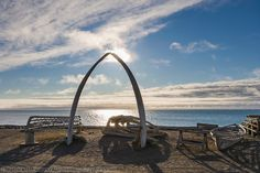 Barrow Alaska. The northernmost point in the U.S