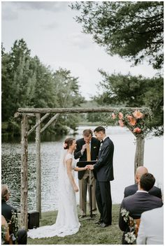 A lakeside summer wedding in Connecticut. New England wedding. Photography by Scarlet Roots. Bride and groom portrait ideas. Rustic Wedding Inspiration, Wedding Photography Inspiration, Event Photography, Tent Reception, Outdoor Ceremony, Edgy Wedding, Summer Wedding, Lemonade Wedding, Connecticut