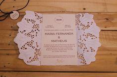 Convite de Casamento com Doilie | http://blogdamariafernanda.com/convite-de-casamento-com-doilie-2