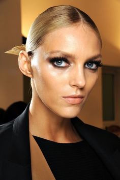 """Pat McGrath at Gucci, SP'13: """"This is Milan. We're not going to bore you with no makeup anymore."""""""
