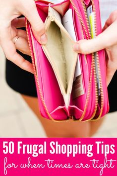Do you struggle to make ends meet? Check out these 50 Frugal Shopping & Cooking Tips, perfect for when times are tight