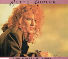 bette midler's pic of album cover for wind beneath my wigs - Google Search Bette Midler, Thing 1, Album Covers, Music Videos, Wigs, Dreadlocks, Hair Styles, Albums, Beauty