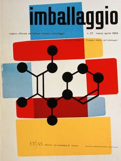 I have to admit that Max Huber is one of the few prominent Swiss designers I didn't know much about until now. I purchased Idea Magazine's issue number 335 recently, which covered most of Huber's work. I was quite impressed by the simple and abstract nature of his works. Featured here are some covers for Imballagio magazine.