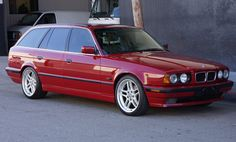 This 1995 BMW Touring has been upgraded with a liter and manual transmission. It began life as a with a smaller, liter and automatic transmission, and was converted early last year by a BMW master technician using all OEM parts. Bmw Classic Cars, Classic Cars Online, Bmw E39 Touring, Bmw 540, Bmw Performance, Good Looking Cars, Bmw Wagon, Bmw Alpina, Volkswagen Polo