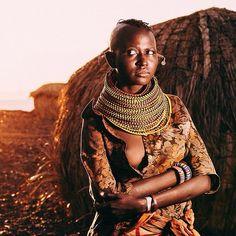 Portrait El Molo people in Turkana. Photo by Mutua Matheka. http://instagram.com/p/qKPK06o9Ym http://mutuamatheka.co.ke