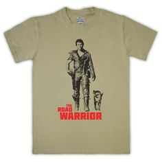 Mad Max 2 The Road Warrior Mens T-Shirt (Sand)