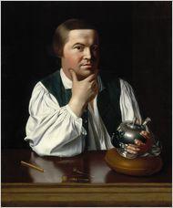 Paul Revere, 1768, by John Singleton Copley