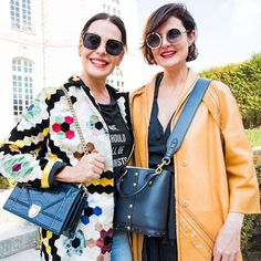 Após o desfile da @dior com a editora de moda @larissalucchese! (Via @carolinaferrazoficial/ Foto: @alleyesneedart) #TakeOverMC #CarolinaFerraz #Dior #PFW  via MARIE CLAIRE BRASIL MAGAZINE OFFICIAL INSTAGRAM - Celebrity  Fashion  Haute Couture  Advertising  Culture  Beauty  Editorial Photography  Magazine Covers  Supermodels  Runway Models
