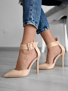 Γόβες Με Μπαρέτα Μπεζ - Step To It Pumps, Heels, Footwear, Fashion, Zapatos, Heel, Moda, Shoe, Fashion Styles