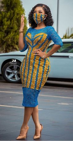 serwaa amihere in African print dress, african fashion Face mask diy - Women's fashion interests Short African Dresses, Latest African Fashion Dresses, African Print Dresses, African Print Fashion, Africa Fashion, Ankara Fashion, African Prints, African Fabric, Short Dresses