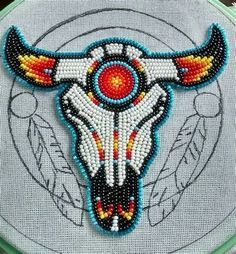 loom beading tutorial Source by You may feel that the history of handcr Native American Regalia, Native American Patterns, Native American Crafts, Native American Design, Native American Beadwork, Native American Jewelry, American Indian Art, Native Beading Patterns, Beadwork Designs