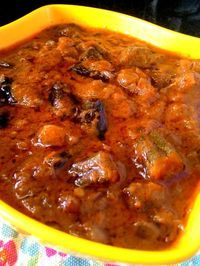 Bhindi Masala Curry Recipe (okra curry) goes really well along with roti.