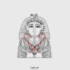 #Tutankhamon  #candycane #osservarcheologia #candy #foodart #foodartist