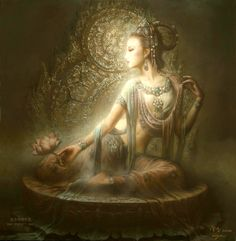 Kwan Yin, Goddess of Compassion by Zeng Hao