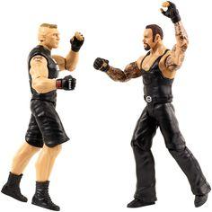 WWE Tough Talkers 2-Pack -The Undertaker & Brock Lesnar