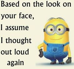 30 Funny Minion picture Quotes #Funny Minions #LOL... - 30, Funny, funny minion quotes, Funny Quote, Lol, Minion, Minions, picture, Quotes - Minion-Quotes.com
