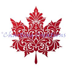 Maple Leaf Tattoos, Canadian Tattoo, Stencils, Leaf Silhouette, Decorative Leaves, Leaves Vector, Quilting, Leaf Art, Autumn Trees