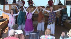 Hebraic dance~worship in Israel, with STBM
