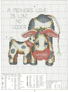 A MOTHERS LOVE IS LIKE NO UDDER