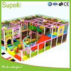 Kindergarten commercial used indoor playground equipment sale