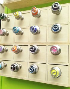 Our Funktini knobs and pulls are an eclectic way to change your decor with color and a bit of fun. Kitchen cabinets Bathroom drawers Dressers Furniture