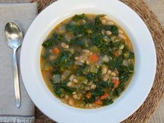 Kale and White Bean Minestrone Recipe