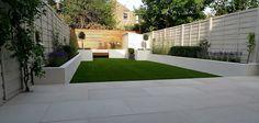 Resultado de imagen de jardines pequeños alargados