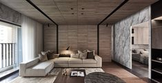 Ana Degenaar: Between The Shadows: The Strange Beauty of Paneled Walls Interior Design Studio, Interior Design Living Room, Living Room Designs, Living Room Sofa, Home Living Room, Living Room Decor, Beautiful Living Rooms, Sofa Design, Hall Design