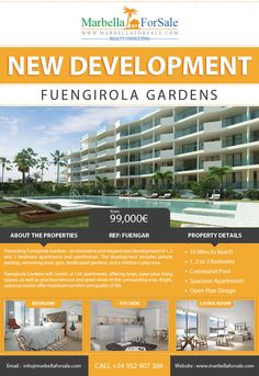 New apartments for sale in Fuengirola