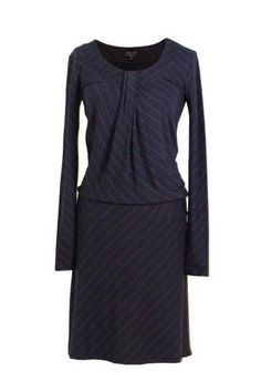 Zilch jurk donkerblauw brick  www.lesjalerie.nl  Le Sjalerie Mode & Accessoires  Kerkbuurt 77 3361BD Sliedrecht
