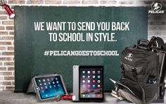 I just entered to win some Pelican ProGear and an iPad Air 2! Click to enter.