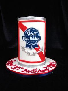 0d398bb9c1adad Pabst Blue Ribbon cake