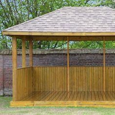 tonelle en bois Import Garden article