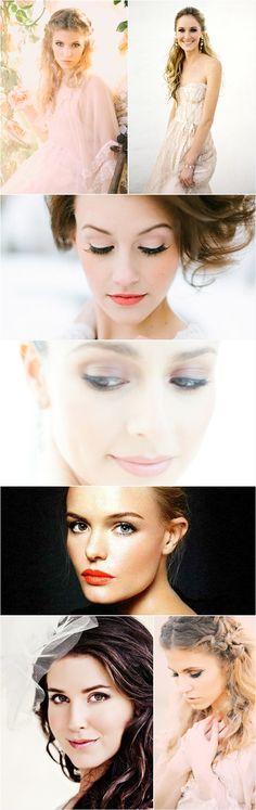 Praise Wedding » Wedding Inspiration and Planning » 24 Beautiful Bridal Makeup Looks