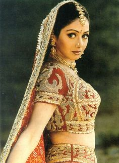 Sridevi, noted for her quirky roles in Bollywood
