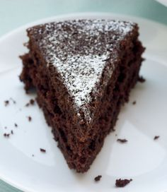 Sometimes simple is best, like with this easy to make Cocoa Cake. It's all about the chocolate! - Bake or Break