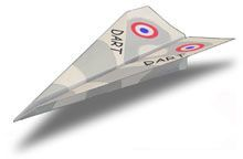 Basic Dart Paper Airplane - I just did these with 4 and 5 year olds so it's definitely not too hard!
