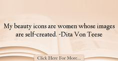 Dita Von Teese Quotes About Beauty - 5801