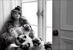 Linda Evangelista & Co. - Italian Vogue
