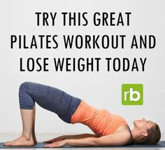 Work your legs with this amazing pilates workout!