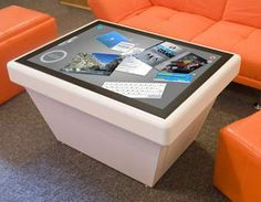 Interactive Tables | Pinterest | Coffee table design, Multi touch ...
