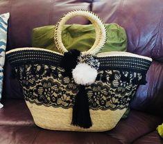 Hermosa cesta decorada!