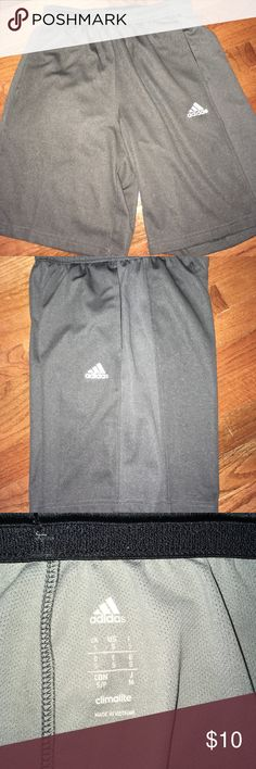 ✨3 for $30✨ NWOT Adidas athletic shorts Breathable mesh fabric, waistband and drawstrings, pockets, perfect condition shorts! adidas Shorts Athletic