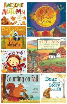 14 Books for Kids that Celebrate Autumn - great reads to pair with those fall activities!